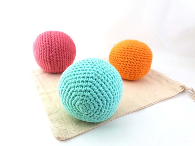 Vegan Dryer Balls - Plastic-Free (Set of 3)