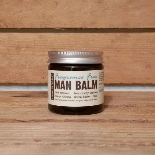 Organic Man Balm - Fragrance Free 60 ml