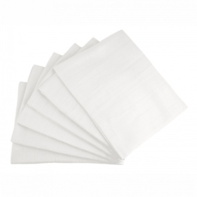 MuslinZ White Muslin Squares - 6 pack