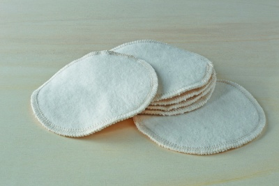 Organic Cotton Breast Pads - 6 Pairs
