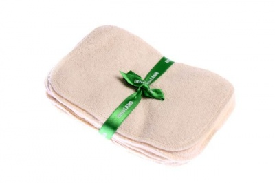10 Littlelamb Washable Organic Cotton Baby Wipes