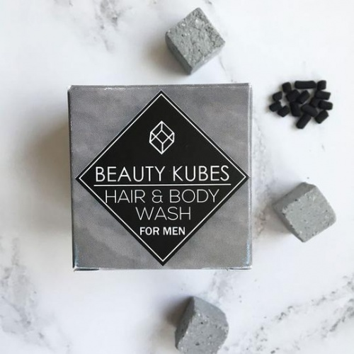 Beauty Kubes Organic Plastic-Free Shampoo & Body Wash - Men
