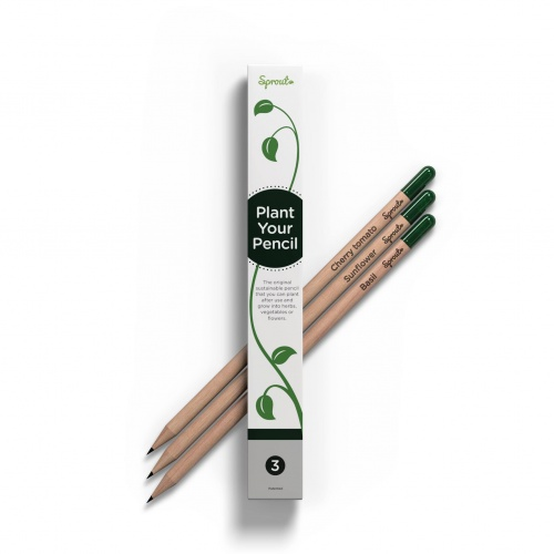 Sprout Plantable Pencils - 3 Pack
