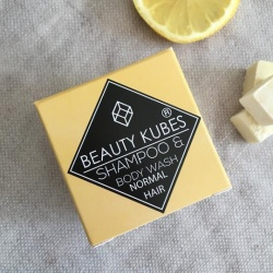 Beauty Kubes Organic Plastic-Free Shampoo & Body Wash