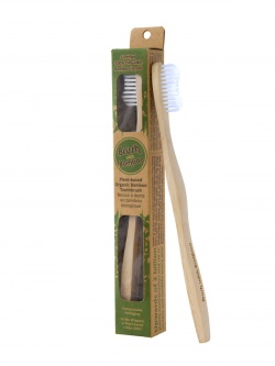 Adult Bamboo Toothbrush - Brush With Bamboo (Plant-based)