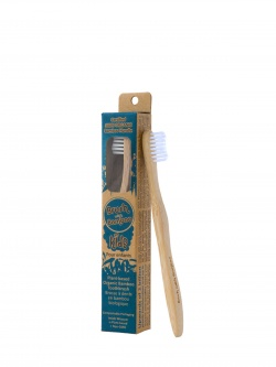 Kids Bamboo Toothbrush - Brush With Bamboo (Plant-based)
