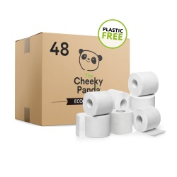 Bulk Box of Bamboo Toilet Paper - 48 Rolls
