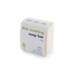 Washing-Up Dish Soap Bar - Made in the UK 155g