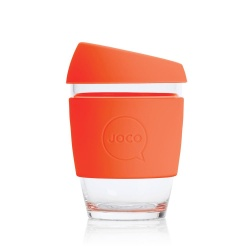 JOCO Reusable Coffee Cup 12oz - Orange