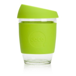 JOCO Reusable Coffee Cup 12oz - Lime Green