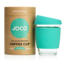 JOCO Cup Reusable Coffee Cup 12oz - Mint