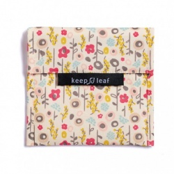 Keep Leaf Large Reusable Baggie - Bloom