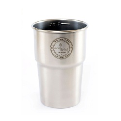 British Stainless Steel Cups - UK Pint