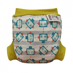 Close Parent Swim Nappy - Robot