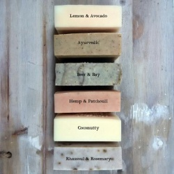 6 Assorted Soapnut Shampoo Bars