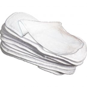 Little Lamb - 10 Washable Liners (Size 2)